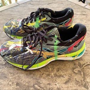 ASICS Gel Cumulus 20 Sneakers Paint Splatter 6